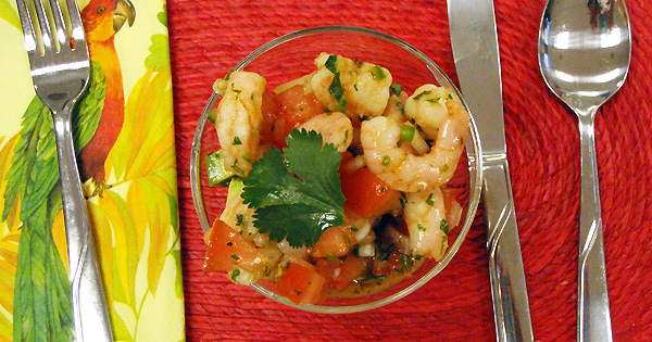 Shrimp Cocktail Acapulco-style