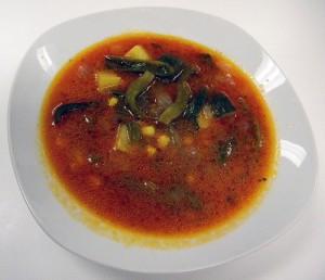 Sopa de Milpa or 'Garden Soup'