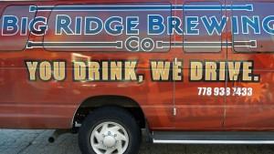 Big Ridge Brewing Cask Fest Van