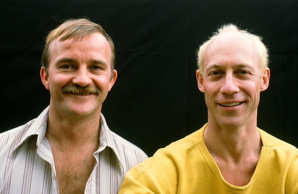 Pochinko and Wallace. Photo courtesy of Ian Wallace