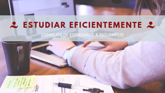 Estudiar eficientemente