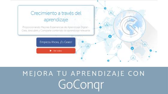 Mejora tu aprendizaje con GoConqr