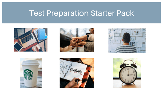 Test Preparation Starter Pack