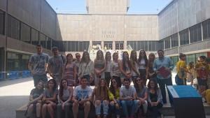 Los alumnos de 1º en el Museo del Traje