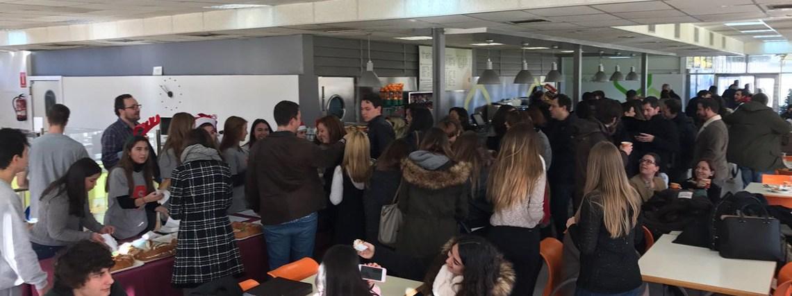Solidaridad en acción en la Universidad Camilo José Cela