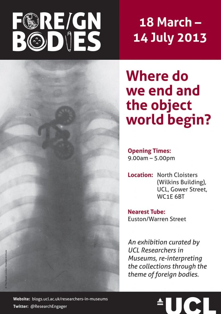 Foreign Bodies exhibition poster