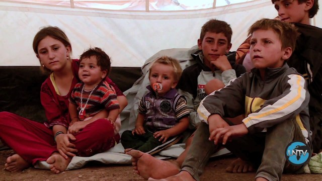 [UNStories #50] Iraqis Flee to Syrian Border Camp
