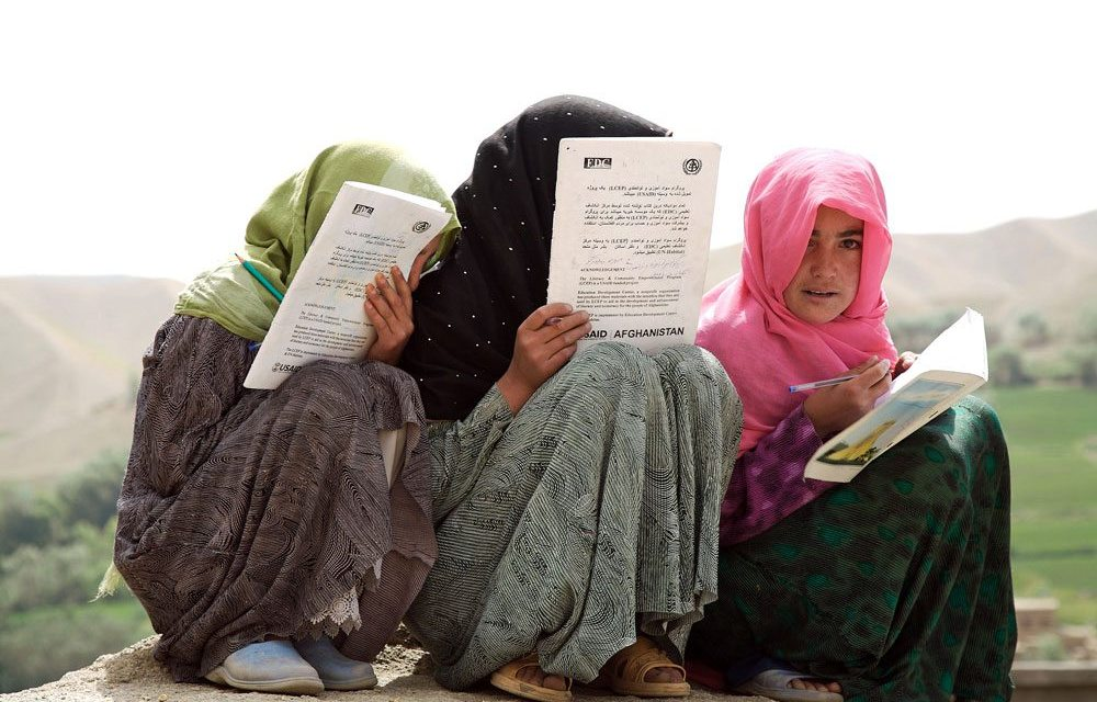 Support the #GirlWithABook initiative and take part in a day of action for girls education