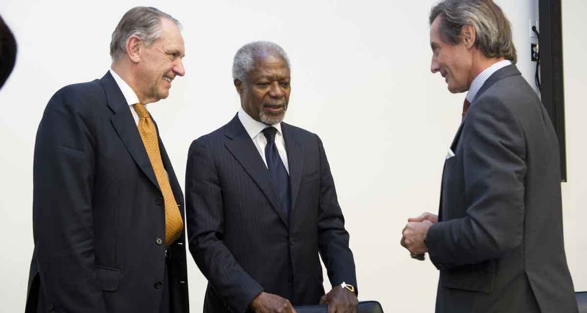 Visit from former Secretary-General Kofi Annan