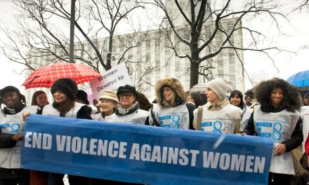 "1st-ever ""March on March 8"" for International Women's Day!"