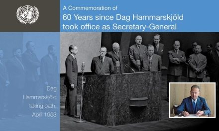 60 years later — celebrating Secretary-General Dag Hammarskjöld