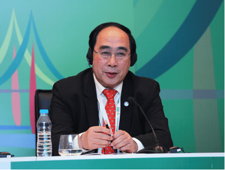 Under-Secretary-General Wu Hongbo