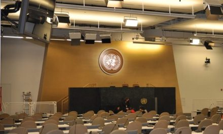 Things look at bit different at this session of the UN General Assembly