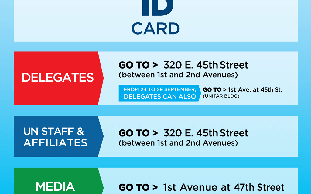 Important changes now in effect for getting your UN ID Card