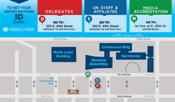 Coming to #UNGA events? Here's how to get your ID card | United