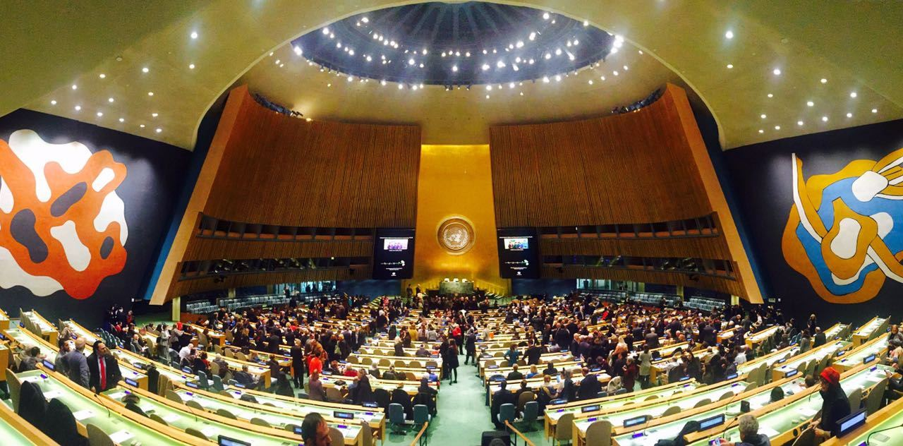 Coming to #UNGA events? Here's how to get your ID card: