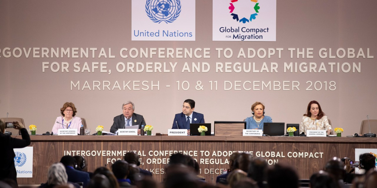 Historic Global Compact for Migration Adopted