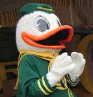 "Photo: ""Puddles,"" UO Duck Mascot"