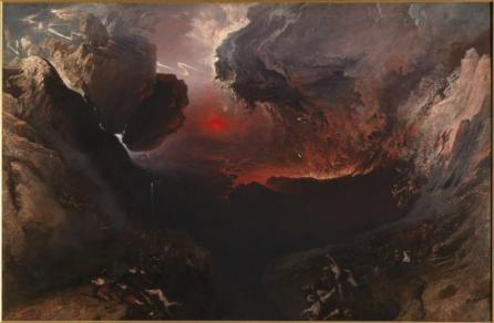 The Great Day of His Wrath 1851-3 by John Martin 1789-1854