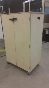 Rolling Storage Cabinets! | CoMotion MakerSpace