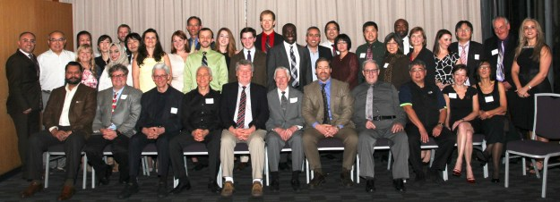 group photo of UW periodontics faculty and graduate students