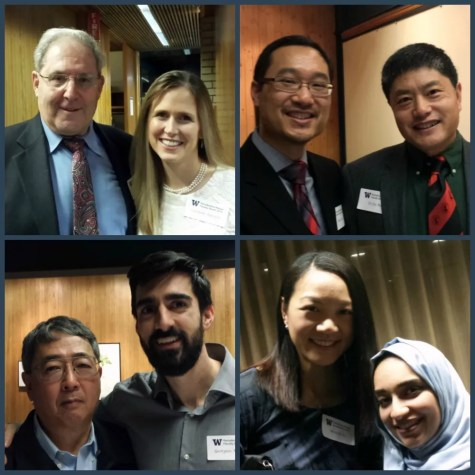 photo collage of faculty members and residents