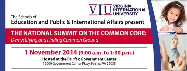 Upcoming Education Summit On The Common Core