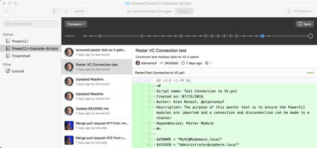 GitHub Desktop Client