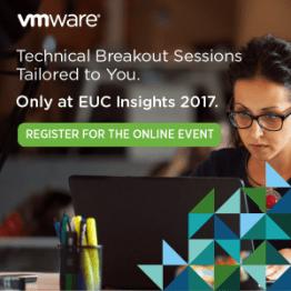 VMware EUC insights online tradeshow