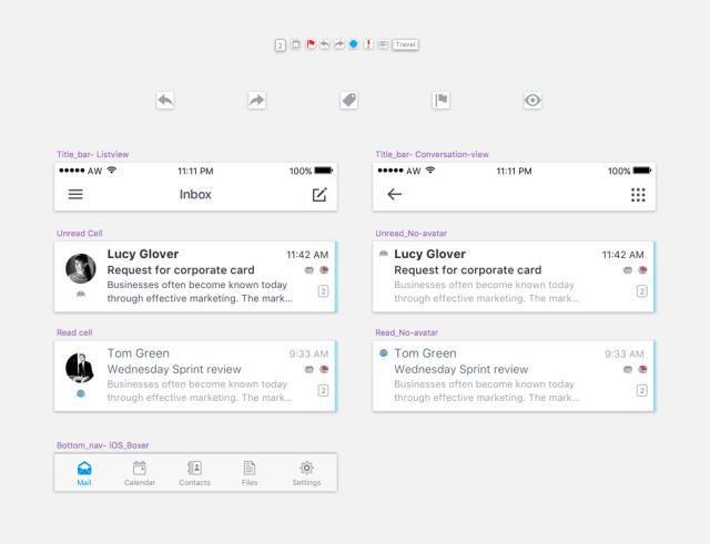 Boxer-app-reusable-design-components