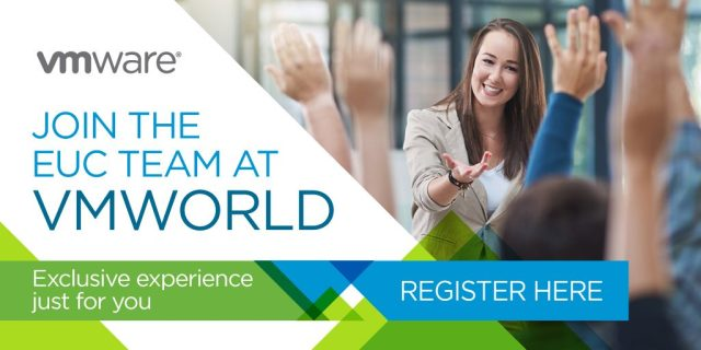 EUC mobility virtualization VMworld 2017