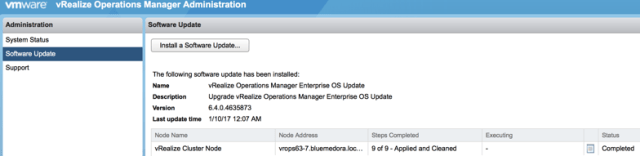 Detailing how to upgrade to vROps 6.4
