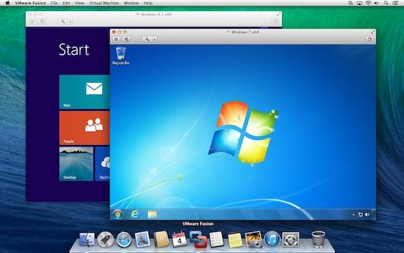 VMware Fusione su macOS