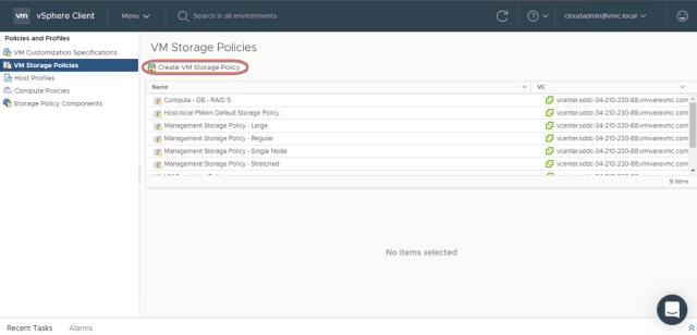 VMware Cloud on AWS Policies 6