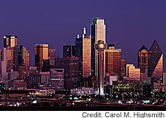 "Shimmering Dallas is the economic hub of a 12-county ""Metroplex"" that also includes the legendary ""cow town"" of Fort Worth, about which I wrote a while back."