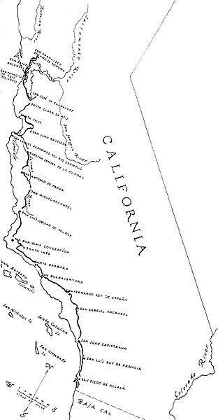 On California's Royal Road, Traces of 'New Spain' « Ted