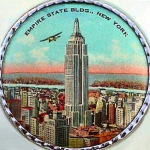 This old rouge compact was one of the early souvenirs sold to tourists at the building.  (ljcybergal, Flickr Creative Commons)