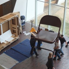 Giant Folding Chair Chairs For Living Room In Ghana Lifelike Installing Robert Therrien 39s Table