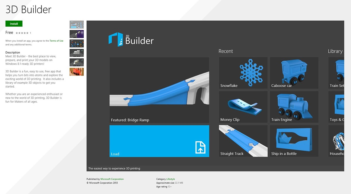 Video: 3D Printing with the 3D Builder App on Windows 8.1 - Windows Experience BlogWindows Experience Blog