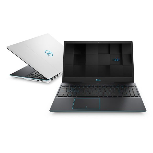 Two Dell G3 15's, one black one silver, with the black one open facing the reader
