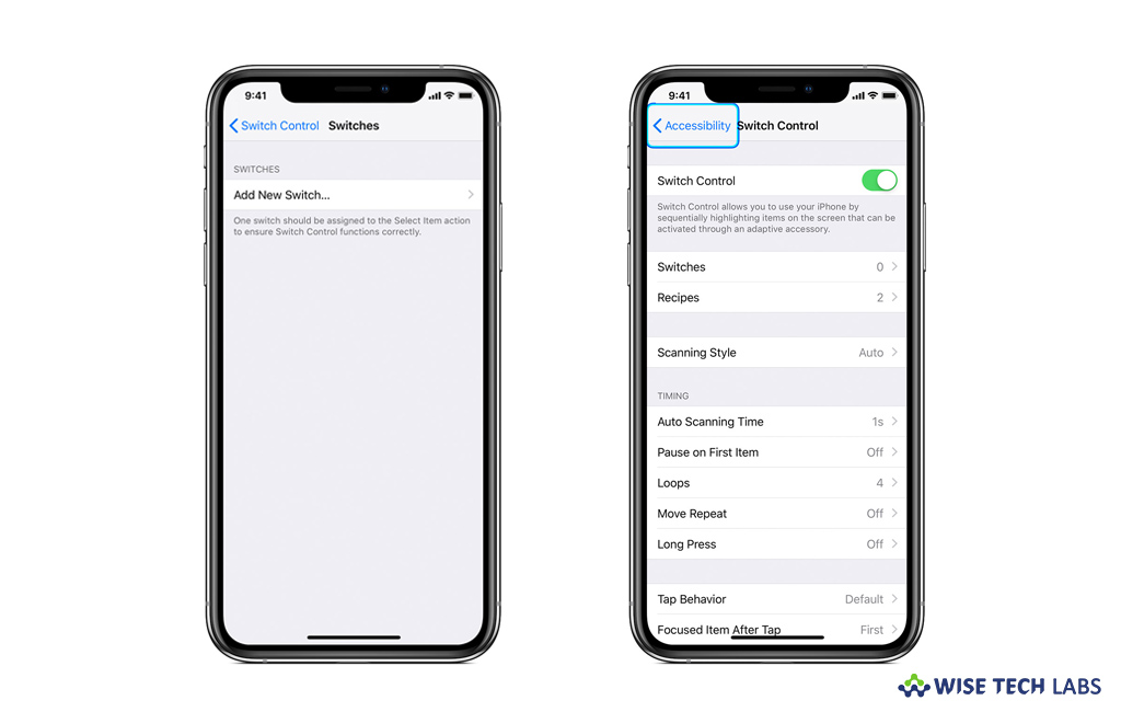 How to enable or disable Switch Control on your iPhone