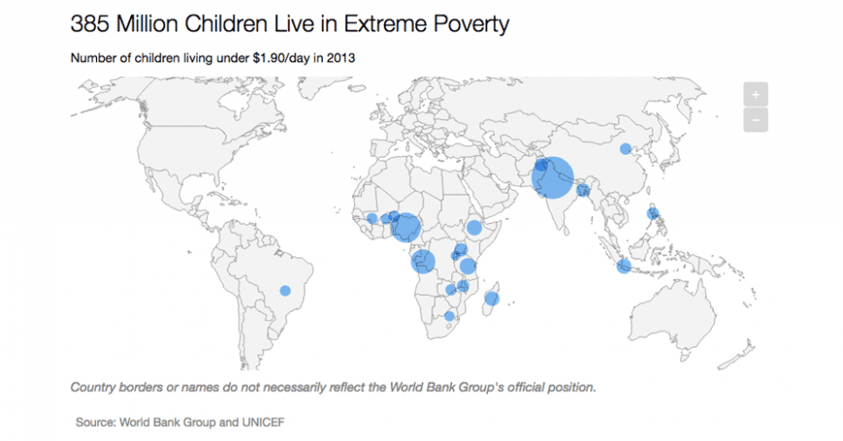 Chart: 385 Million Children Live in Extreme Poverty