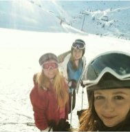 My first skiing trip