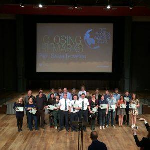 All the award winners!