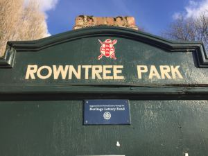 Rowntree Park is one of my favourite outdoor spaces in York