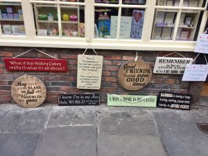 You will find loads of quirky shops in The Shambles.