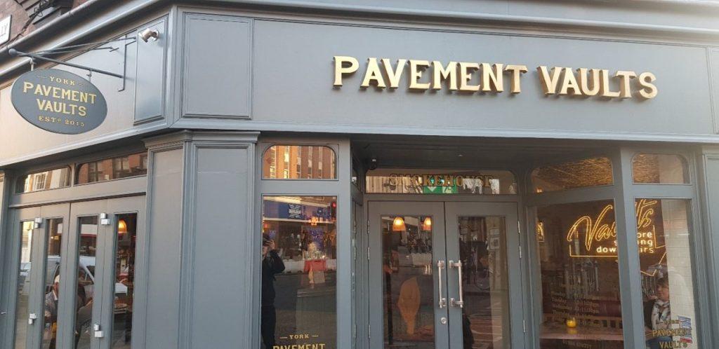 My York Favourites Pavements Vaults