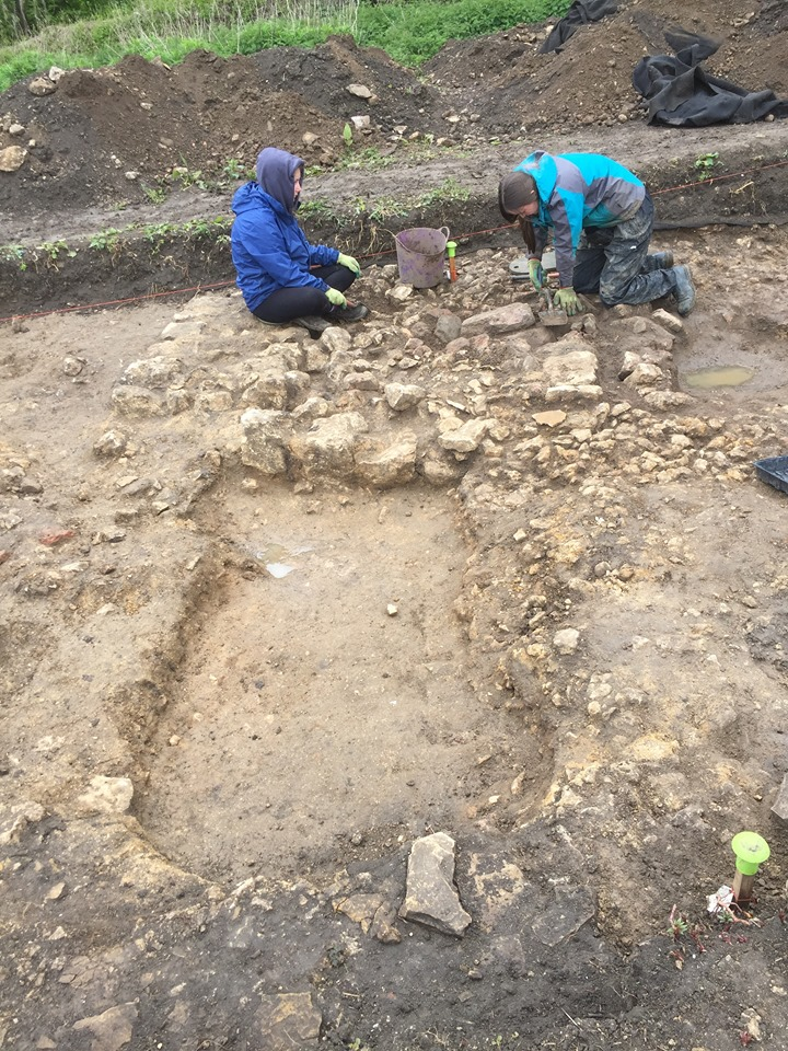 University of York Archaeology excavation field trip
