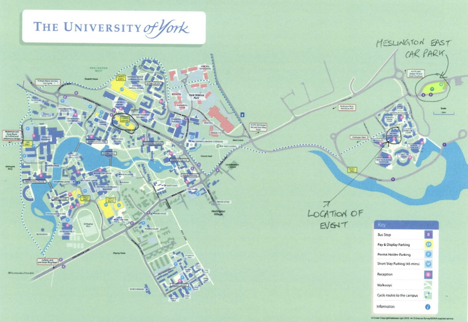 Top tips for Post-Offer Visit Days - walk around campus