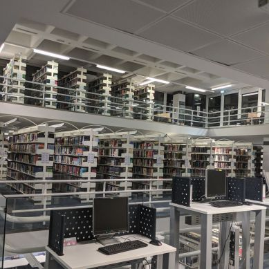 The Morrell Library has a wide range of resources.
